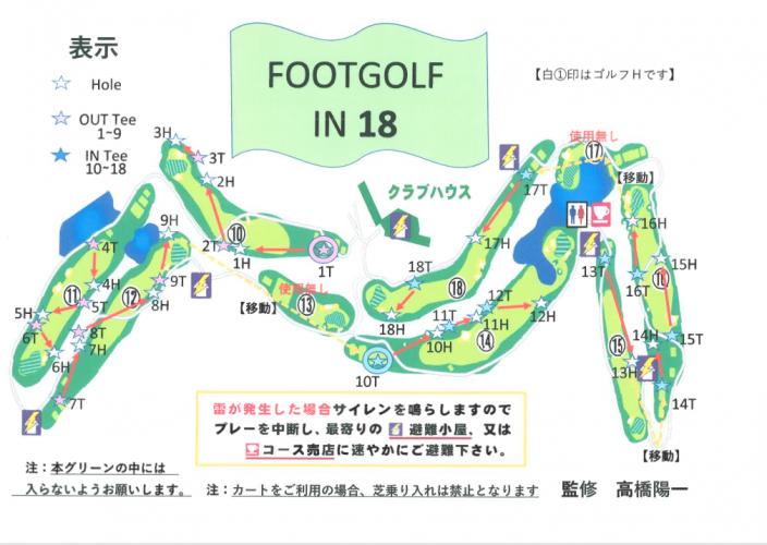 フットゴルフIN18H