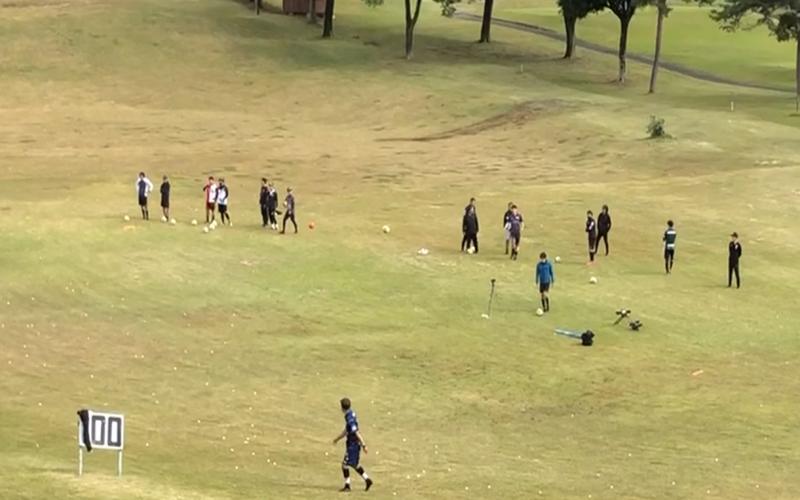 フットゴルフの画像★