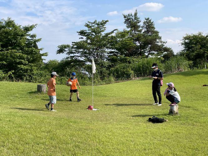 未来塾フットゴルフ